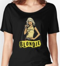 BLONDIE ROCK BAND Women's Relaxed Fit T-Shirt