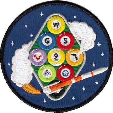 Wideband Global SATCOM system 9 (WGS 9) Air Force Logo by Quatrosales