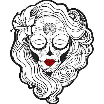 Vecta Skull Girl 2 by VectaSelecta