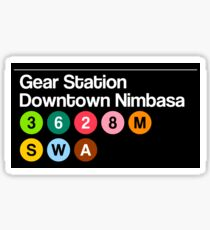 Gear Station Sticker