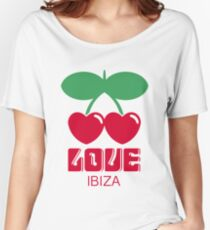 Love Ibiza logo Women's Relaxed Fit T-Shirt