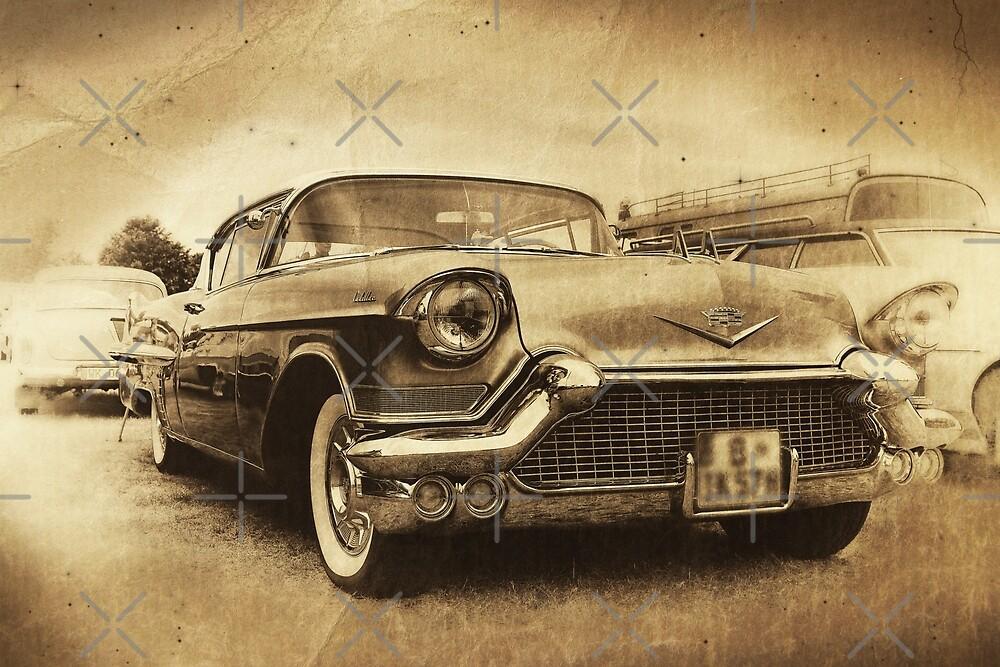 1957 Cadillac, vintage by hottehue