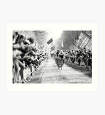 Fabian Cancellara. (Trek-Segafredo) Art Print