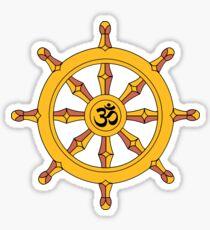 Wheel of Dharma Sticker