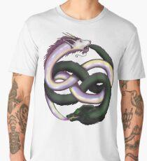 Wolf and dragon Men's Premium T-Shirt