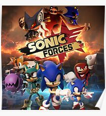Sonic Forces Poster