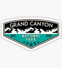 GRAND CANYON NATIONAL PARK ARIZONA MOUNTAINS HIKING CAMPING HIKE CAMP 6 Sticker