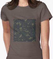 Grunge pattern Women's Fitted T-Shirt