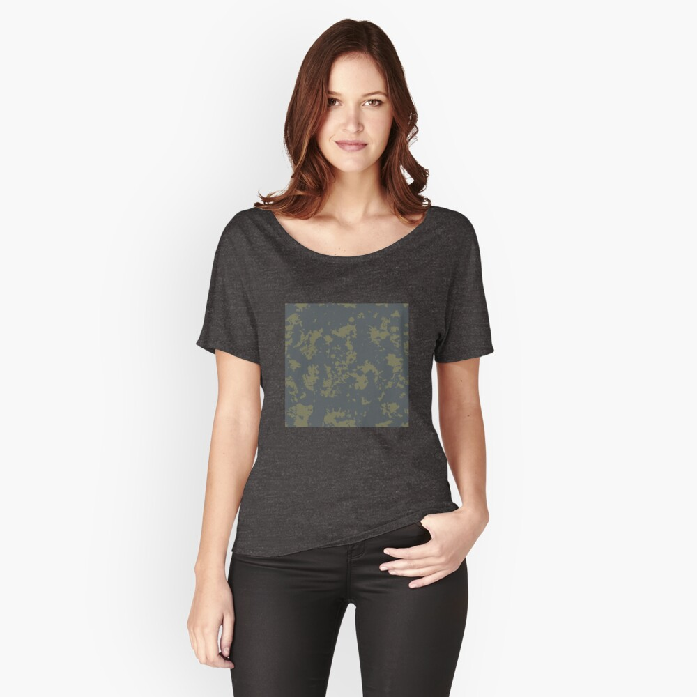 Grunge pattern Women's Relaxed Fit T-Shirt Front