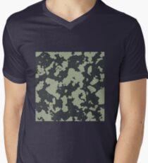 Grunge pattern Men's V-Neck T-Shirt