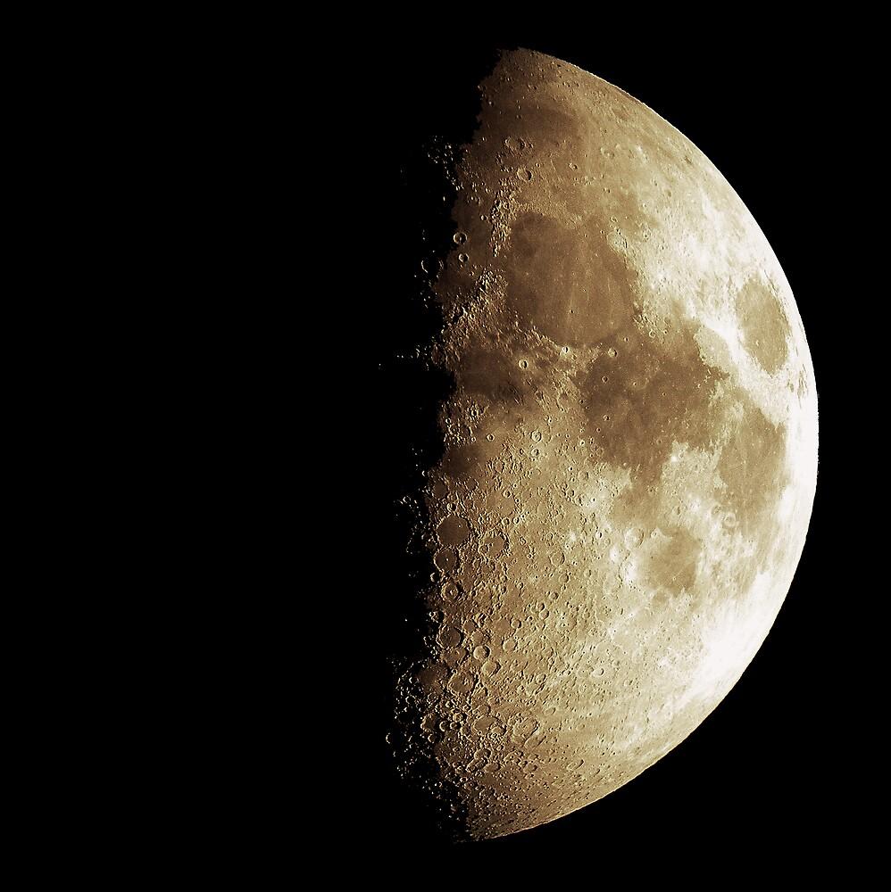 The Orange Moon by David West