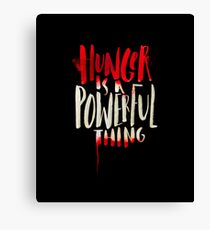 Hunger Canvas Print