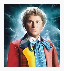 Colin Baker - The Sixth Doctor Photographic Print