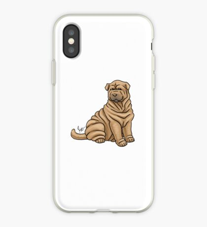 Chinese Shar Pei iPhone Case