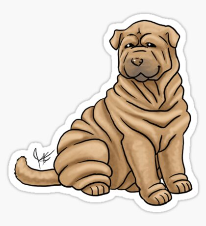 Chinese Shar Pei Sticker