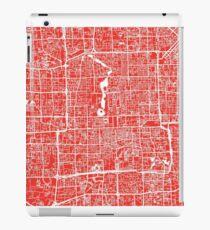 Beijing Map - Red iPad Case/Skin