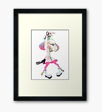 Pearl Splatoon 2 Framed Print