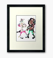 Off the Hook Pearl and Marina Splatoon 2 Framed Print