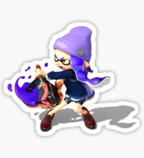 Splatoon 2 Blue Inkling  Sticker