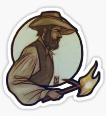 Whaler Boy Sticker