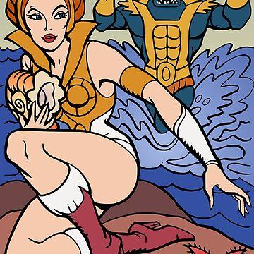 Warrior Goddess by snespix