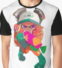 Splatoon 2 Salmon Run Inkling Graphic T-Shirt