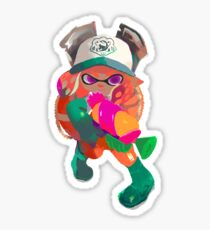 Splatoon 2 Salmon Run Inkling Sticker
