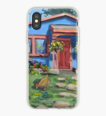 The Blue House iPhone Case
