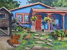 The Blue House by Karen Ilari