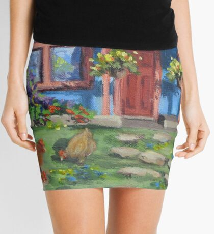 The Blue House Mini Skirt