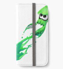 Splatoon 2 Green Squid Inkling iPhone Wallet/Case/Skin