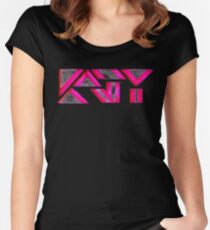 KATY Women's Fitted Scoop T-Shirt