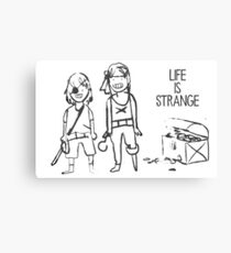 Life Is Strange Max and Chloe Canvas Print