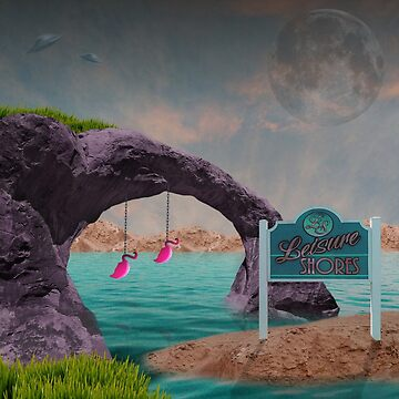 Greetings from Leisure Shores by SAMerch