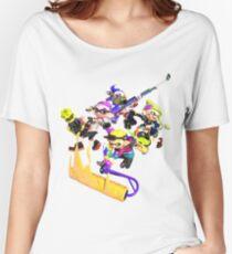 Splatoon 2 Artwork Women's Relaxed Fit T-Shirt