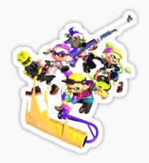 Splatoon 2 Artwork Sticker