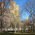 The Majestic, NYC - Central Park View by Sarah McKoy