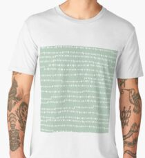 Abstract brush stroke pattern Men's Premium T-Shirt