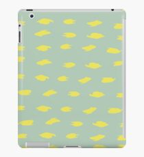 Abstract brush stroke pattern iPad Case/Skin