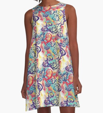 River Runs Deep A-Line Dress