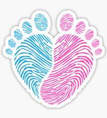 Baby footsteps Sticker