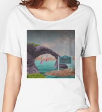 Greetings from Leisure Shores Women's Relaxed Fit T-Shirt