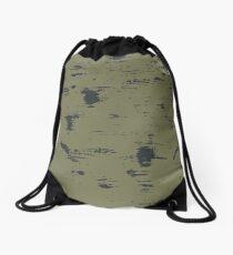 Grunge pattern Drawstring Bag