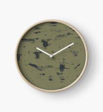 Grunge pattern Clock