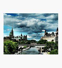 Ominous Ottawa Photographic Print