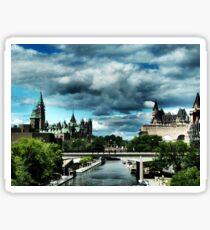 Ominous Ottawa Sticker