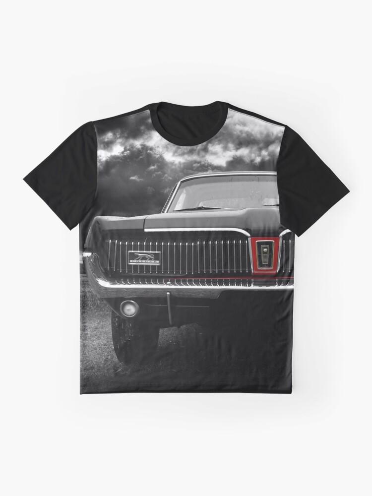 Alternative Ansicht von 1968 Ford Mercury Cougar Grafik T-Shirt