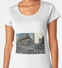 Evo - Philadelphia - Virtual Plein Air Painting Women's Premium T-Shirt
