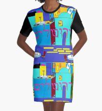 Jerusalem of Gold, Israel Graphic T-Shirt Dress