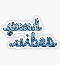 Good Vibes Ocean Sticker